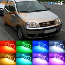 RF télécommande Bluetooth APP multicolore Ultra lumineux rvb LED ange yeux kit pour FIAT PUNTO 188 Mk2 2003   ON lifting phare