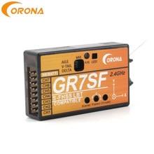 Corona GR7SF 2,4g 7CH S.BUS Empfänger Mit 3X Gyro Futaba S-FHSS Kompatibel Sender T6J T8J 10J T14SG 16SZ Für FPV Flugzeug