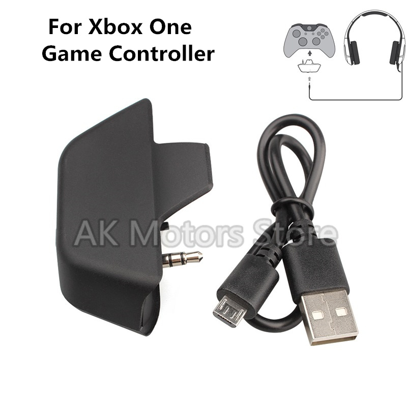 For X-box XBox One Wireless Bluetooth Headset Adapter 3.5mm Headphone Converter