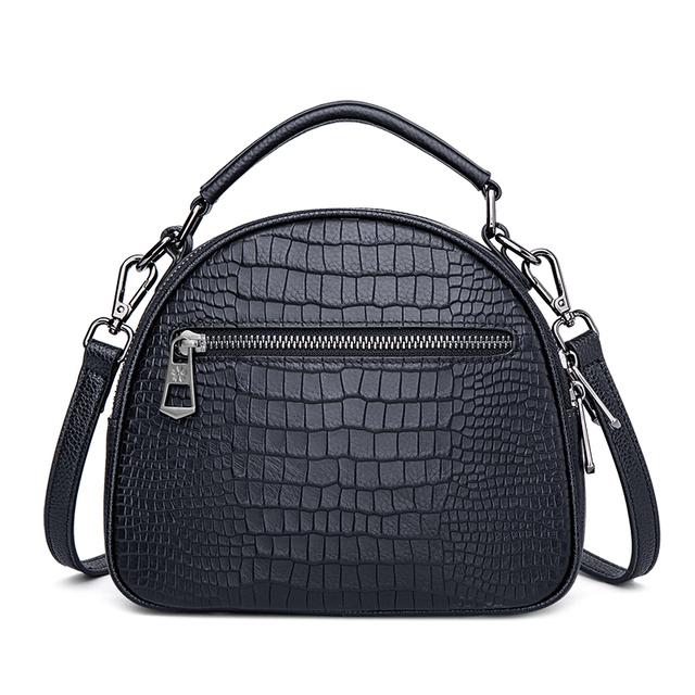 ZOOLER 2019 New Designed Soft Genuine Leather Bags Women Leather Handbags Black Luxury Shoulder Bag Ladies Tote Bag  WG201