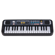 Многофункциональный мини электронный пианино с микрофоном Abs дети портативный 37 клавиш цифровая музыкальная клавиатура electone подарок