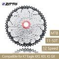 ZTTO горный велосипед MTB 12 скоростная кассета 12Velocidade 12 S 50T Запчасти для велосипедов широкого соотношения звездочки свободного колеса для K7 Eagle...