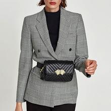 Fashion Brand Waist Bags for Women Zipper Belt Bags Pu Leather Fanny bag Lion Head Good Quality Banana Shoulder Chest Bag C32