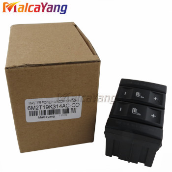 New Black Seat Heating Button Control Switch For Ford Mondeo MK4 S-MAX Galaxy MK 3 6M2T-19K314-AC 6M2T19K314AC BS7T19K314AB image