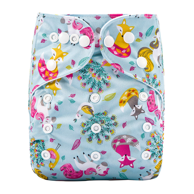 Reusable Modern Baby Pocket Cloth Nappies Reusable Baby Cloth Diapers Without Insert J32