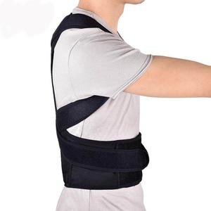 Image 3 - 4XL Bovenste Rugpijn Relief Houding Corrector Voor Mannen Body Shapers Schouder Ondersteuning Riem Volwassen Kids Spine Protector Lumbale Braces
