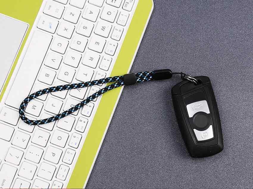 Correa de muñeca ajustable Cordón de mano para iPhone Samsung cámara de teléfono para GoPro USB Flash Drives llaves ID tarjeta llavero