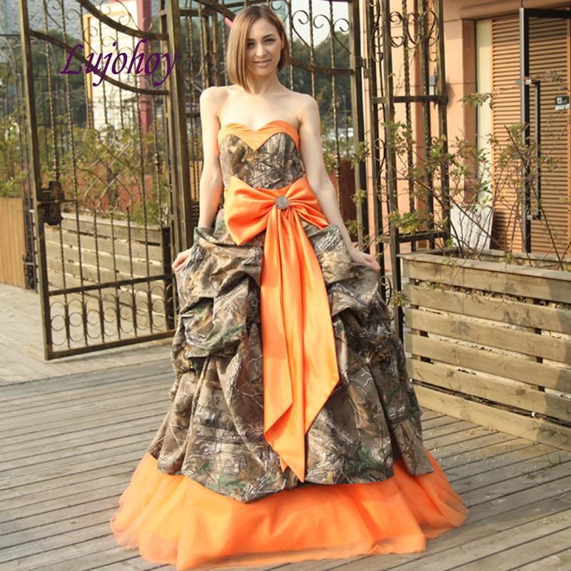 Elegant Camo Wedding Dresses Plus Size Ball Gown Bow Sweetheart Bridal Bride Dress Wedding Gowns Wedding Dresses Aliexpress