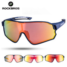 ROCKBROS Cycling Glasses MTB Road Bike Polarized Sunglasses UV400 Protection Ultra-light Unisex Bicycle Eyewear Sport Equipment