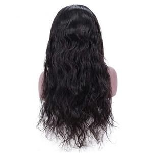 Image 2 - אריאל גוף גל סגירת 4 × 4 תחרה סגירת חום סגרים צבע טבעי ללא רמי שיער טבעי סגירת חתיכה פרואני פרונטאלית סגירה