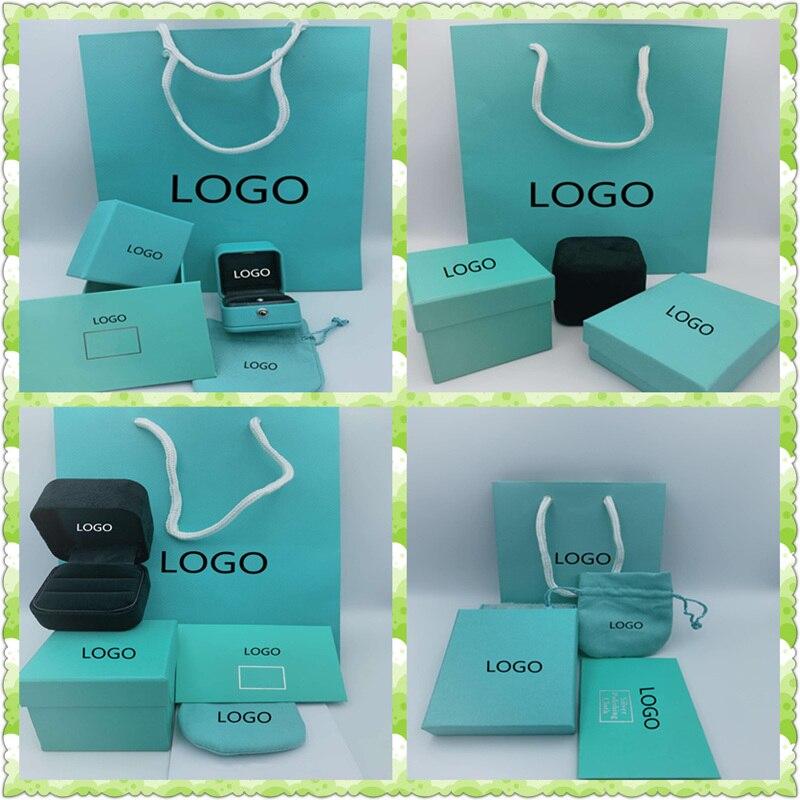 SHINETUNGOriginal100%ManufacturersCustomJewelryBoxEarringsRingBraceletNecklaceBoxHas1:1 LogoCraftGiftBox