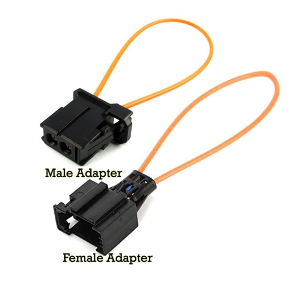 Automotive Glasvezel Loop Ring Plastic Kortsluiting Test Ring Mannelijke & Vrouwelijke Kit Adapter Voor Audi Bmw Mercedes