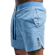 New Men Fitness Bodybuilding Shorts Man Summer Gyms Workout Male Breathable Quick Dry Sportswear Jogger Beach Short Pants