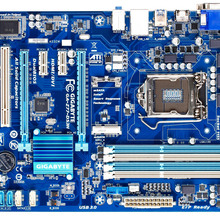 Used GIGABYTE motherboard GA-Z77-DS3H supports LGA1155 socket processor and dual
