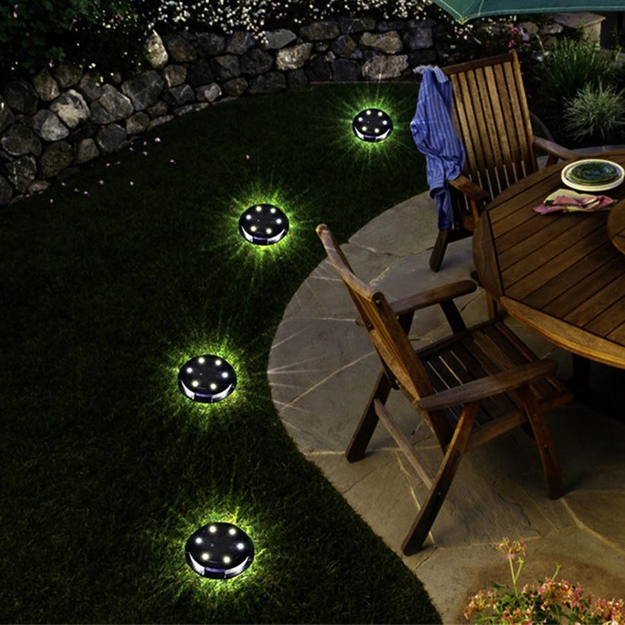 Lâmpada à terra solar ao ar livre