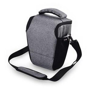 Image 1 - DSLR Camera Bag Case For Nikon D3400 D3500 D5600 D7500 P900 S Canon 1100D 200D 750D 80D T6 Lens Pouch Shoulder Package