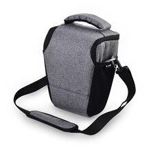 Funda para cámara DSLR Nikon D3400 D3500 D5600 D7500 P900 S Canon 1100D 200D 750D 80D T6 Lens Pouch Shoulder Package