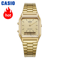 Casio watch gold watch men top brand luxury Dual display Waterproof Quartz men watch Sport military WristWatch relogio masculino