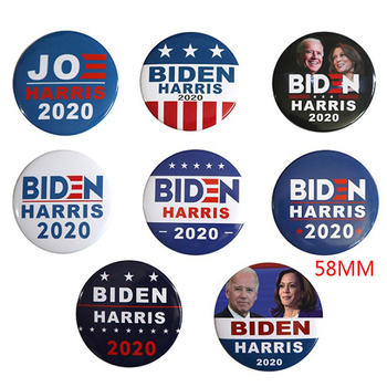 1pc Democratic 2020 Biden Harris President Voting Brooch Badge for Outdoor Xsv image
