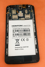 Used Original motherboard mainboard+touch screen+frame for HOMTOM HT17 Pro 5.5 inch 1280x720 HD MT6737 Quad Core Free Shipping