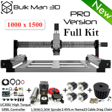 Enhanced Tension-System Cnc-Machine Upgrade-Based Linear-Rails Full-Kit Queenbee Pro