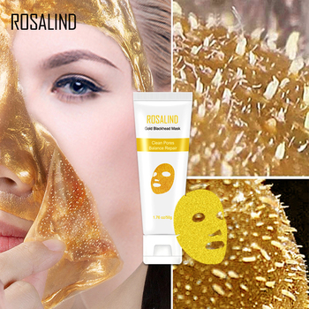 ROSALIND Facial Mask Peeling Blackhead Remedy Remover Mask From Black Dots Anti-Aging Dead Sea Mask Gold Shrink Pore Skin Care 1