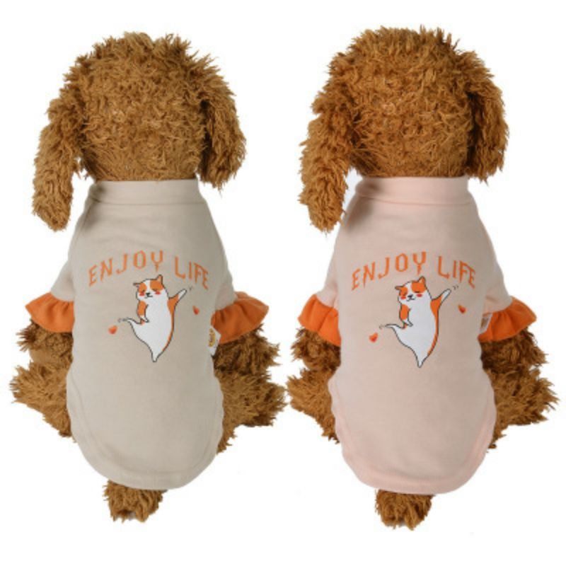 2-legged Pet Cute Autumn And Winter Clothes For Dog  Costume Warm Leisure  T-shirt thumbnail