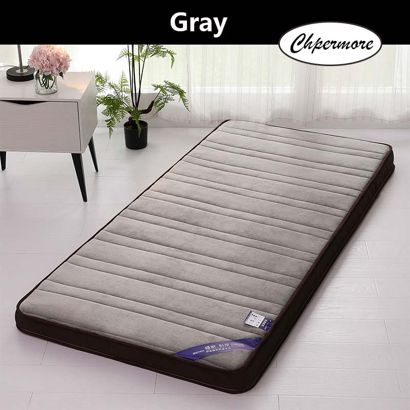 Image 3 - Chpermore Thick flannel Mattress Tatami stereoscopic Comfortable Mattresses Bedspreads King Queen Twin Full Size-in Mattresses from Furniture