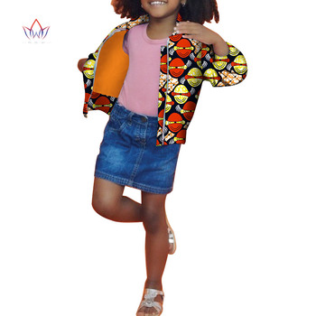 2020 Dashiki African Clothing Baby Girl Clothes Winter Full Sleeve Baby Girl Winter Cloth Cotton Kids Jackets For Girls WYT198 reima jackets 8689577 for girls polyester winter fur clothes girl