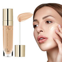 Pudaier 5ml Makeup Concealer Waterproof Full Coverage Liquid Foundation Face Contour Corrector Base Primer Cosmetics Concealer o two o 4 colors face contour makeup liquid concealer base makeup face foundation brand liquid concealer makeup cosmetics