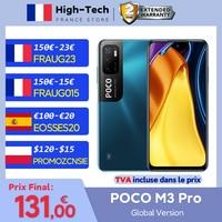 """POCO M3 Pro versión Global 5G Smartphone NFC de la dimensión 700 Octa Core 90Hz 6,5 """"DotDisplay 5000mAh 48MP Triple Cámara"""