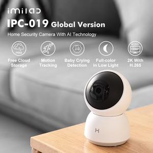 Imilab 19E IP Камера 2K 1296P Wi-Fi Камера MI умный дом безопасности Камера CCTV видео Камеры Скрытого видеонаблюдения Камера Детские monitor【global общий язык ...