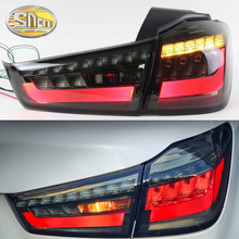 Car Styling tail lights for Mitsubishi ASX RVR 2011-2018 LED Tail Lamp rear trunk lamp cover drl+signal+brake+reverse стоимость
