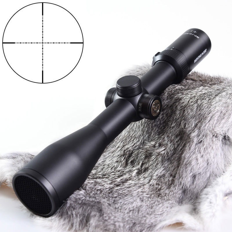 WESTHUNTER WT-1 4-16X44SF Shockproof Hunting Air Rifle Scope 30MM Aluminum Tube Mil Dot Reticle Optic Riflescope Weapon Sights
