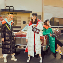 Allure Amore Winter Jacket Women New High Quality Women Long Down Coat