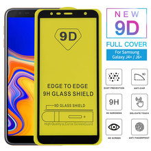 9D Full Glue Cover Tempered Glass For Samsung Galaxy J6 J8 2018 Screen Protector For Samsung J6 J4 Plus 2018 Glass Film 2pcs lot 9d full glue cover tempered glass for samsung galaxy m20 m10 m 20 10 full cover screen protector glass film
