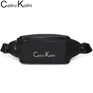 Waist-Bag-Pack Bag Motorcycle Chest-Sling Celinv Koilm Water-Resistant Women Brand Nyloncloth