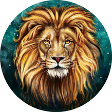 Hot sale lion  summer landscape tiger mandala beach towel pineapple tropical Round size 1500*1500mm