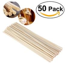 TINKSKY 50pcs Oil Diffuser Replacement Rattan Reed Sticks
