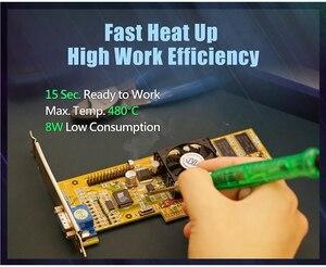 Image 2 - ProsKit SI 169U מיני הלחמה ברזל USB 5V 3D הדפסת גמר הלחמה דוד הלחמה טיפים פלסטיק גילוף חותך
