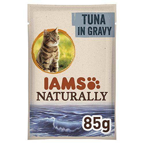 IAMS Naturally Gato Adulto Con Atún Salvaje En Salsa [85 G]