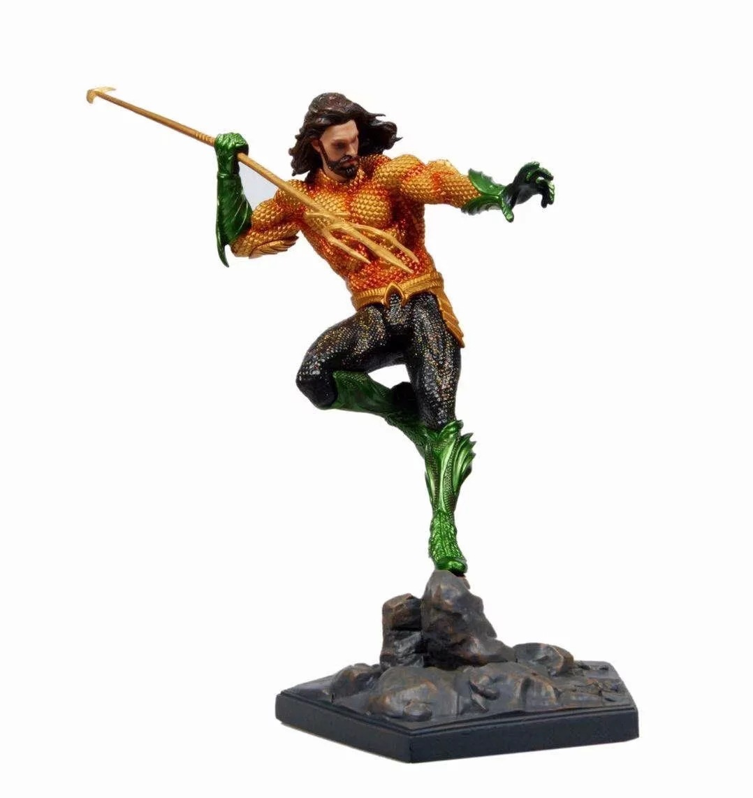 DC Justice League Aquaman Statue PVC Collectible Action Figure Toy