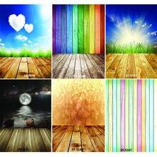 Виниловый фон для студийной фотосъемки с изображением цветных
