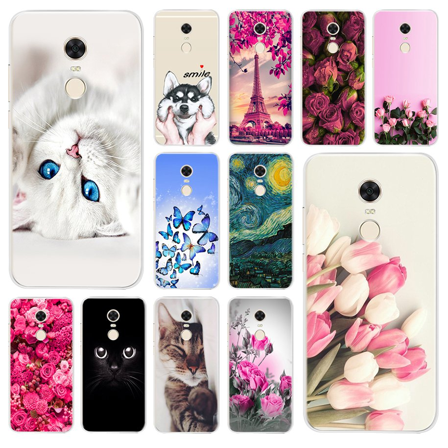 For Xiaomi <font><b>Redmi</b></font> <font><b>Note</b></font> <font><b>4X</b></font> <font><b>Case</b></font> Silicone Soft <font><b>TPU</b></font> Cover For Xiaomi <font><b>Redmi</b></font> <font><b>4X</b></font> <font><b>Note</b></font> 4 <font><b>4X</b></font> Phone <font><b>Case</b></font> Bag For <font><b>Xiomi</b></font> <font><b>Redmi</b></font> <font><b>Note</b></font> 4 Global image