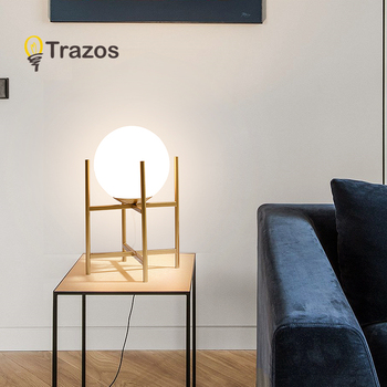 Modern LED table lamp vertical gold/black with stable vertical vertical reading light for office bedside table lamps