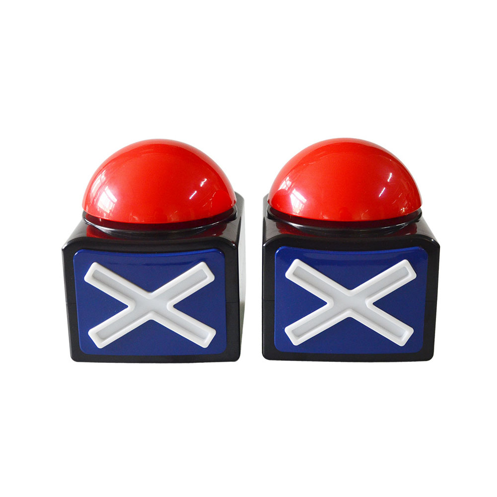 Trivia Got Talent Prank Fun Relieve Stress Loud Toy ABS Ring Sound Light Alarm Button Joke Quiz Game Answer Buzzer