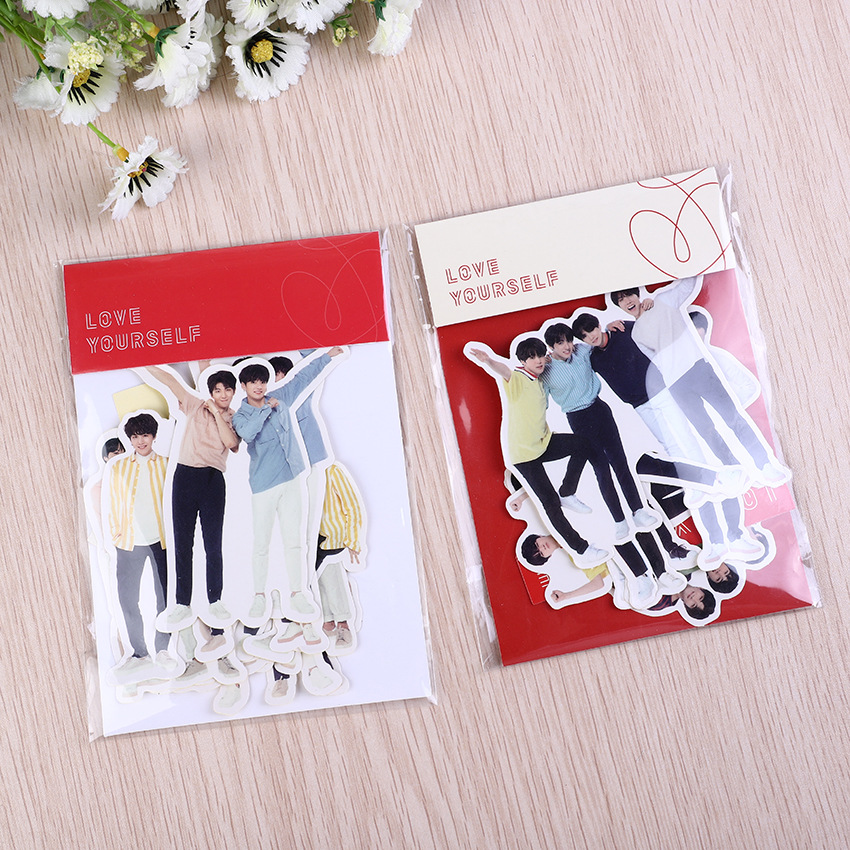 Kpop Bangtan Boys Stickers Poster Map Of The Soul Persona Album High Quality Kpop Bangtan Boys Kpop Sticker Fans Collection