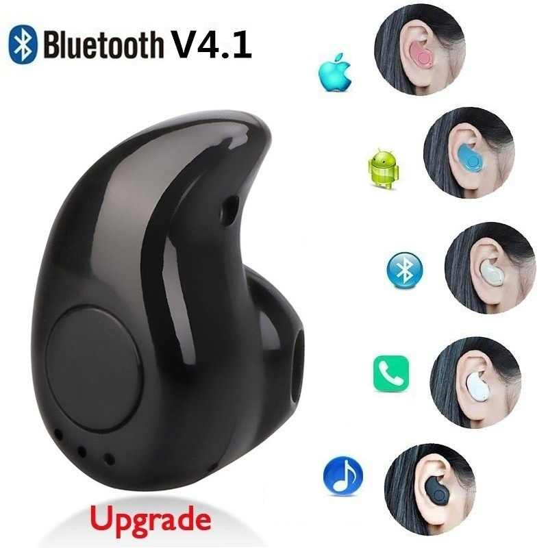 Mini S530 Invisibile Auricolare Senza Fili di Bluetooth del Trasduttore Auricolare In Orecchio con Il Mic Vivavoce per Tutto il Telefono per Samsung Huawei Smartphone