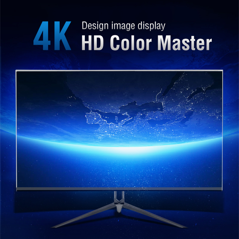 Anmite AN-270W04K 27IPS 4K HDR UHD [3840 x 2160] Gaming Monitor PC HDMI Led Display image