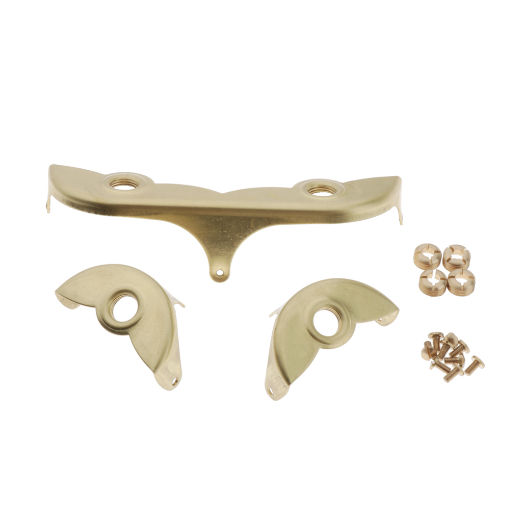Copper Baritone Saxophone Key Guard Set With Screws For Saxophonists, Beginners And Students